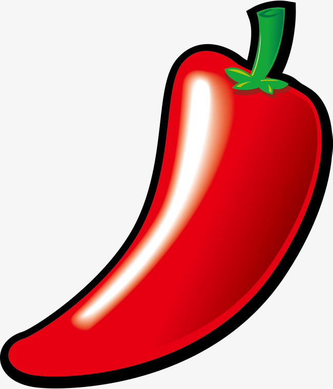 650x758 Red Pepper Vector, Chili, Red, Vegetables Png And Vector For Free