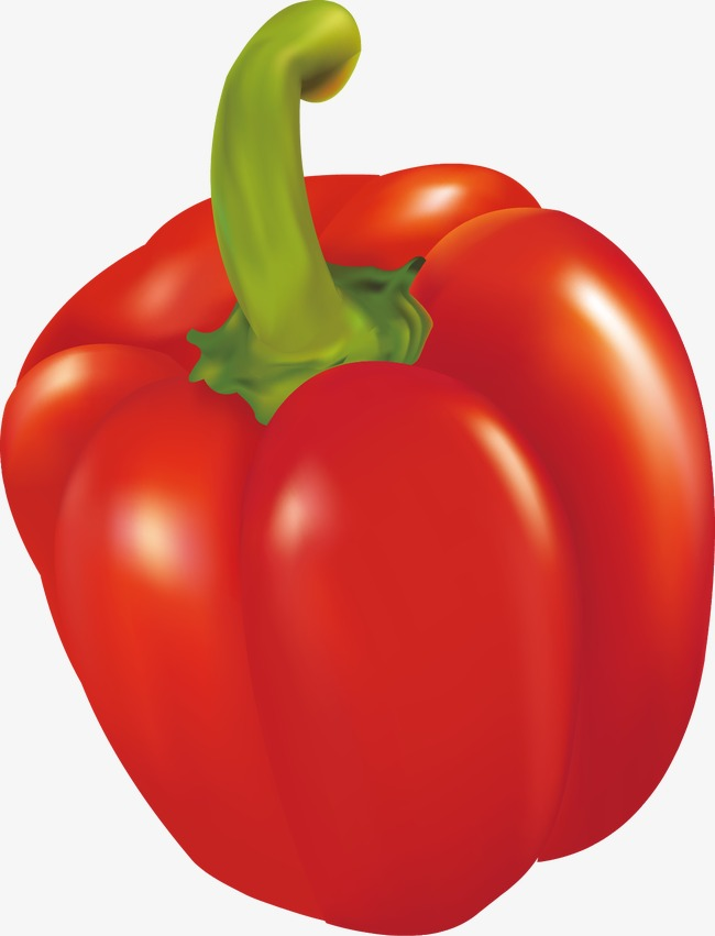 650x851 Vector Red Pepper, Chili, Green Pepper, Vector Png And Vector For