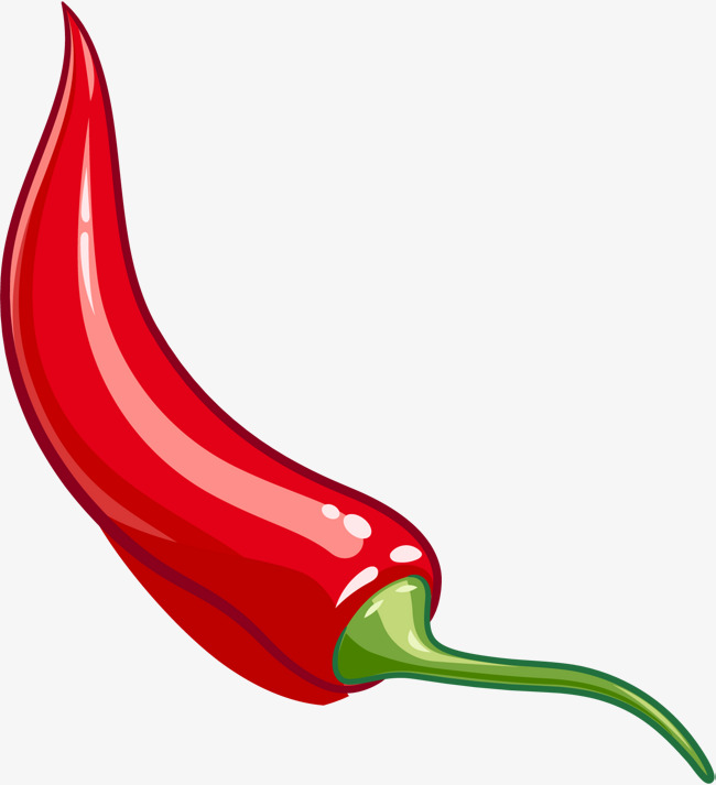 650x713 Cartoon Pepper Material, Vector Pepper, Red Chili, Cartoon Chili