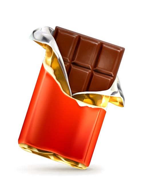 500x632 Delicious Chocolate Bar Vector Design 04 Free Download