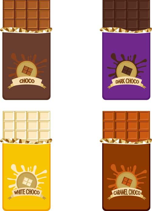 500x691 Delicious Chocolate Bar Vector Design 05 Free Download