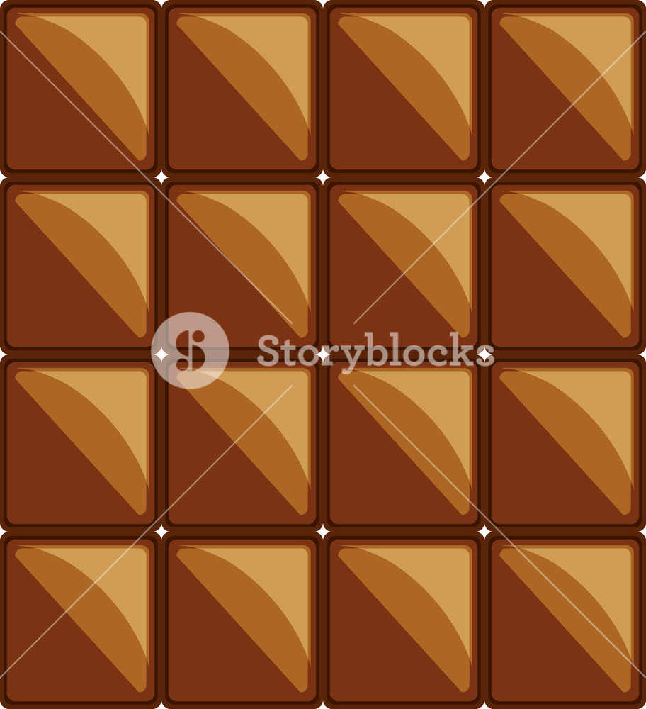 912x1000 Background Of Chocolate Bar, Colorful Design Vector Illustration
