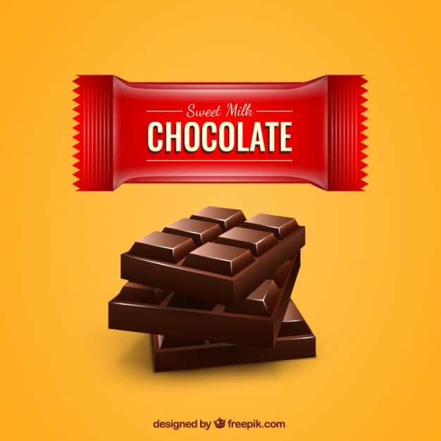 626x626 Chocolate Bar Vector Free Download
