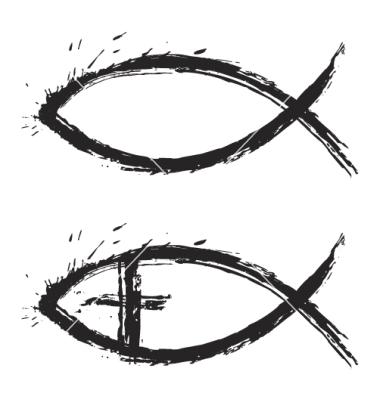 Christian Fish Vector