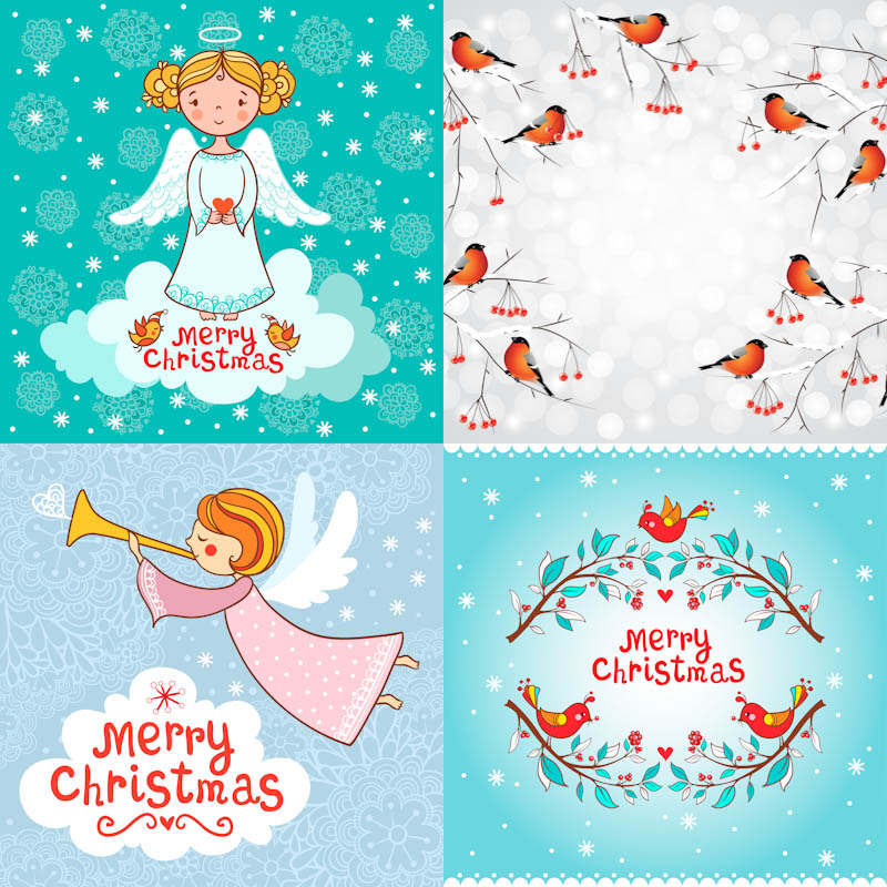 800x800 Christmas Angel Vector Free Download Vectorpicfree (Free Ai Eps)