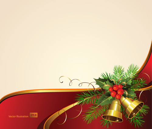500x427 Exquisite Christmas Backgrounds Vector 03 Free Download