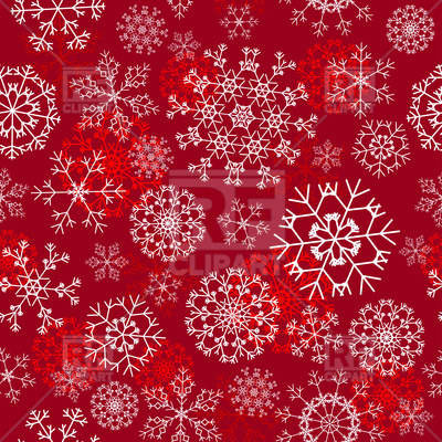 400x400 Seamless Snowflakes Christmas Background Vector Image Vector