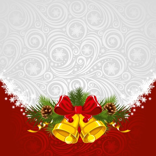 600x600 Christmas Background 01 Vector Free Vector In Adobe Illustrator Ai