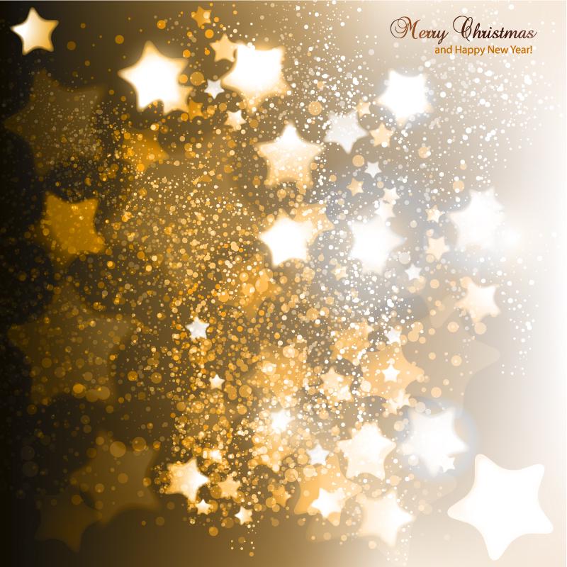 800x800 Luminous Stars Christmas Background Vector Free Vector Graphic