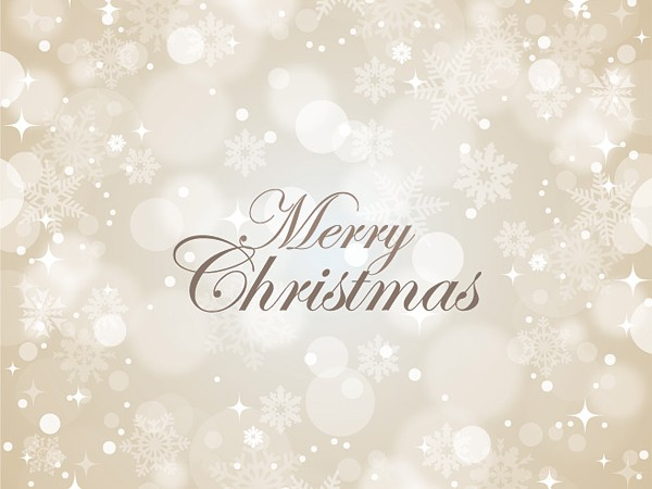 600x450 Merry Christmas Vector Graphic