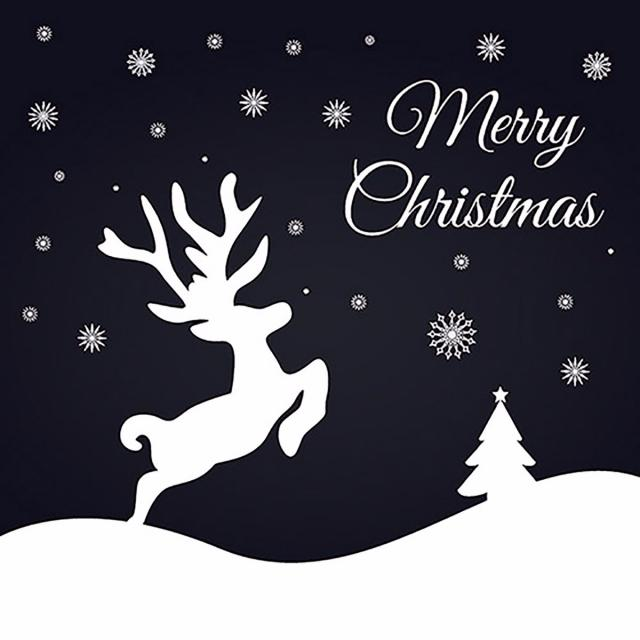 640x640 Simple Vector Christmas Backgrounds, Christmas Vector, Background