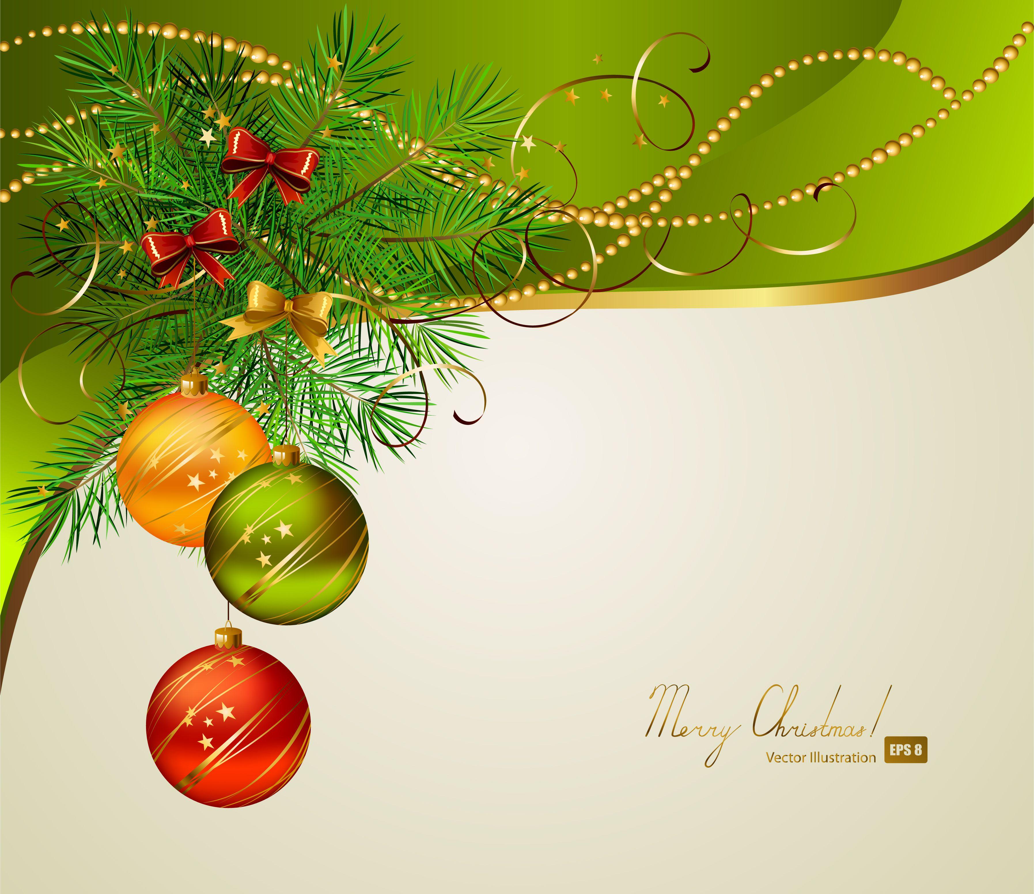 3590x3105 Free Vector Beautiful Christmas Background 01 Vector Christmas