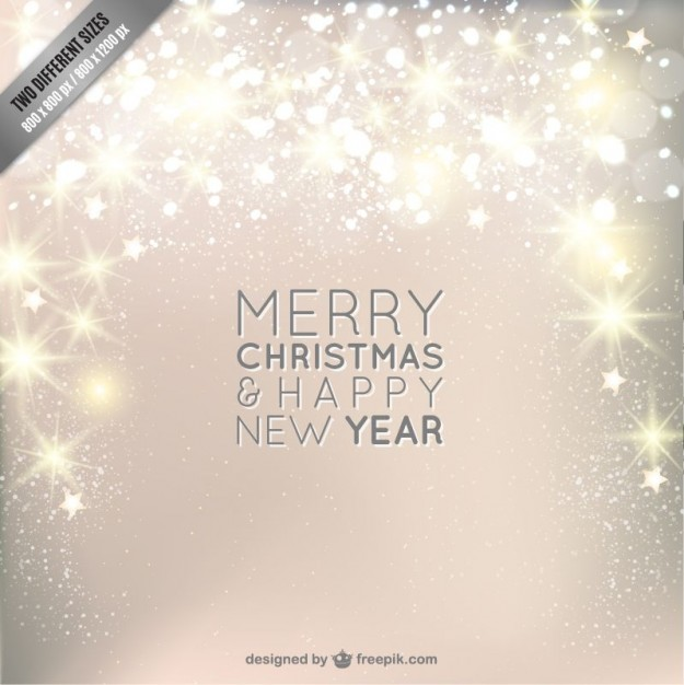 625x626 Christmas Background With Sparkle Vector Free Download