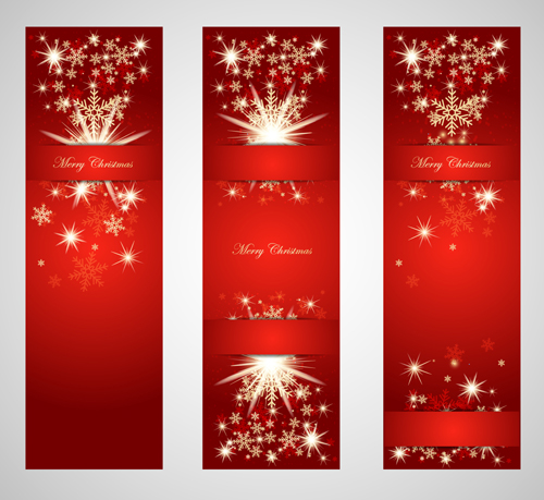 500x459 Ornate Red Christmas Backgrounds Vector Material 03 Free Download