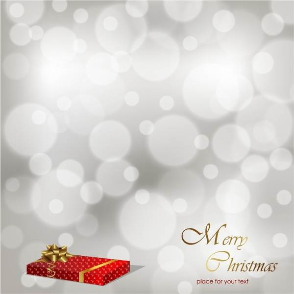 600x600 Snowy Christmas Background Vector Free Download 600x600