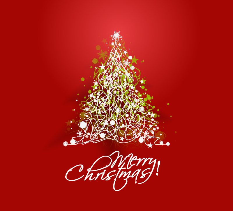 800x725 White Line Christmas Background Vector Free Vector Graphic Download