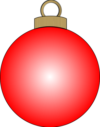 394x500 Christmas Ball Vector Public Domain Vectors
