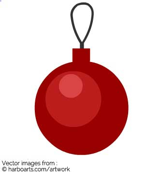 335x355 Download Simple Christmas Ball