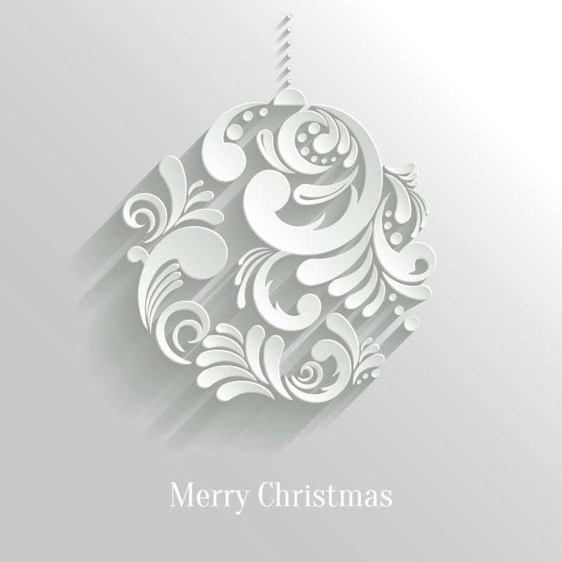 800x800 Merry Christmas Ball Vector Free Vector Graphic Download