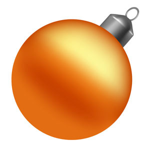 300x300 Vector Christmas Ball