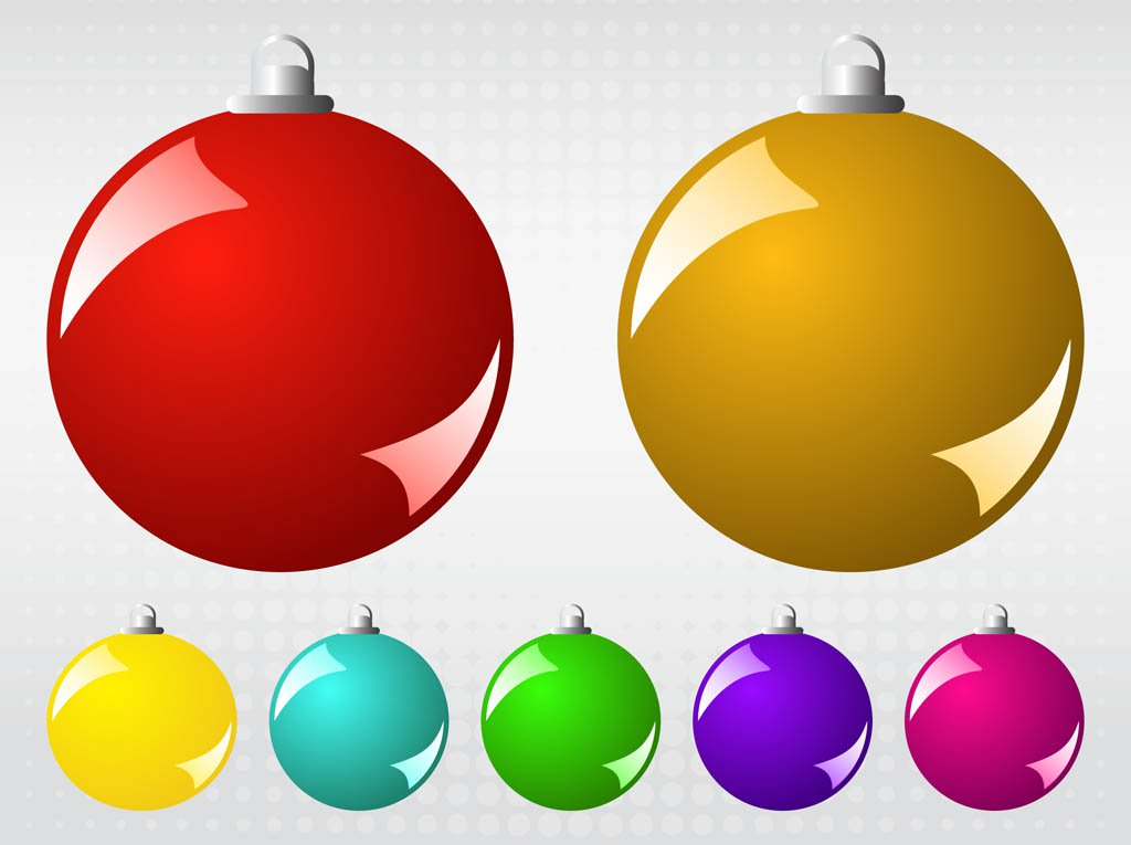 1024x765 Vector Christmas Balls Vector Art Amp Graphics