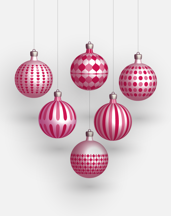 600x757 Christmas Freebies Vector Balls Pehaa Blog