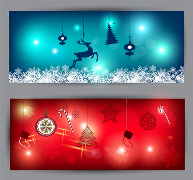 394x368 Christmas Banner Free Vector Download (15,858 Free Vector) For