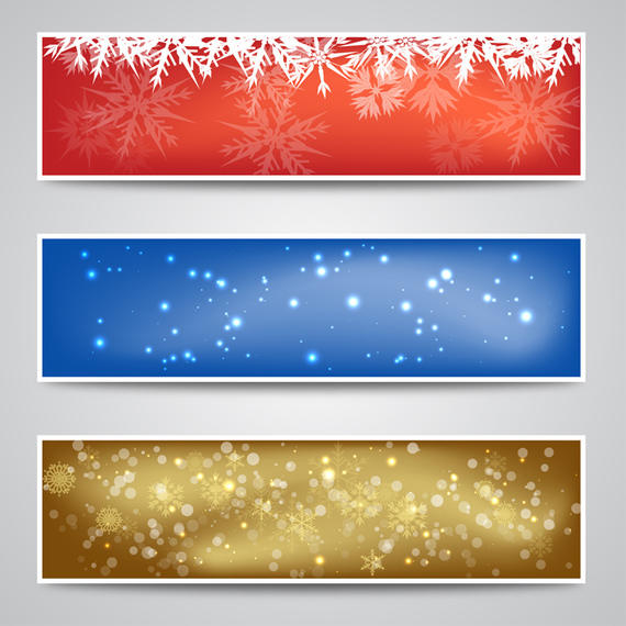 570x570 Christmas Banner Backgrounds
