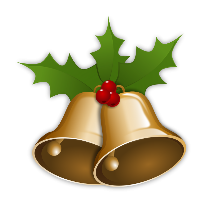 796x800 Graphic Royalty Free Christmas Bells