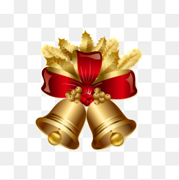 260x261 Vector Christmas Bells Png, Vectors, Psd, And Clipart For Free