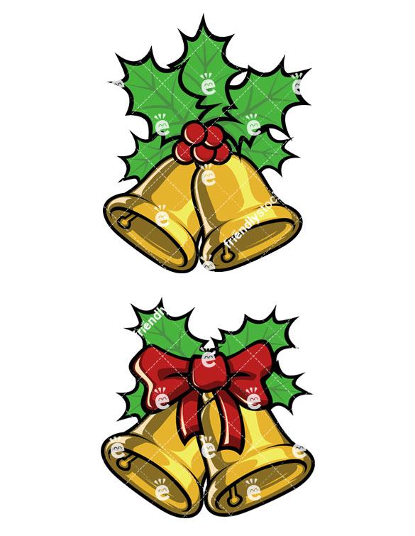 585x755 Christmas Bells