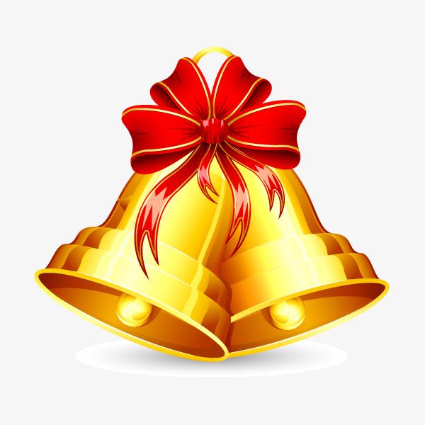 600x600 Christmas Bells Vector Elements, Vector Christmas Bells, Christmas