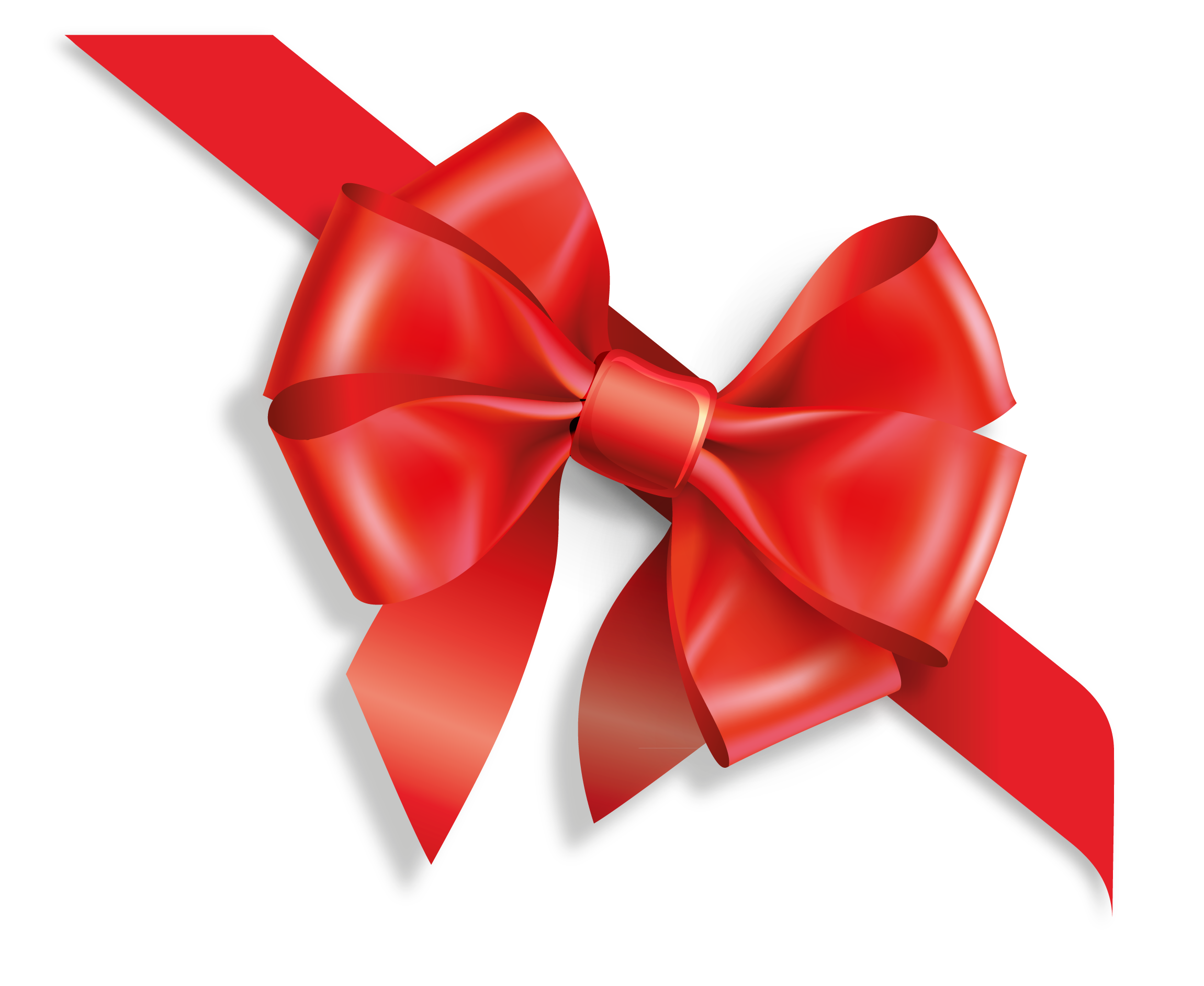 Christmas Bow Vector At Getdrawings Com Free For Personal Use