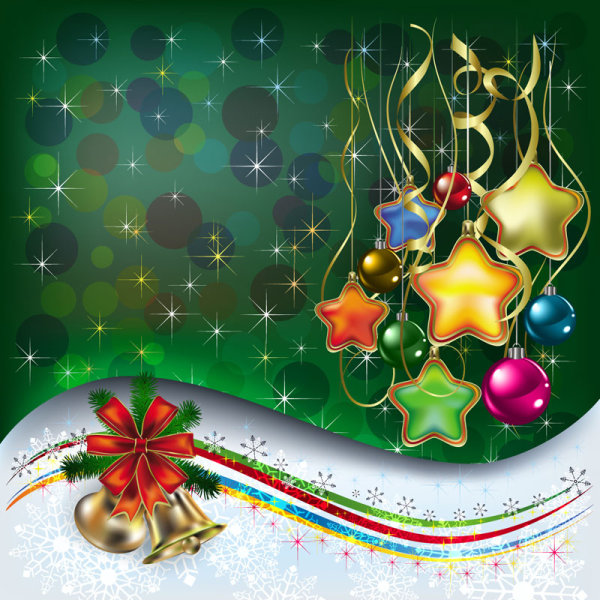 600x600 Merry Christmas Design Elements Vector 04 Free Download