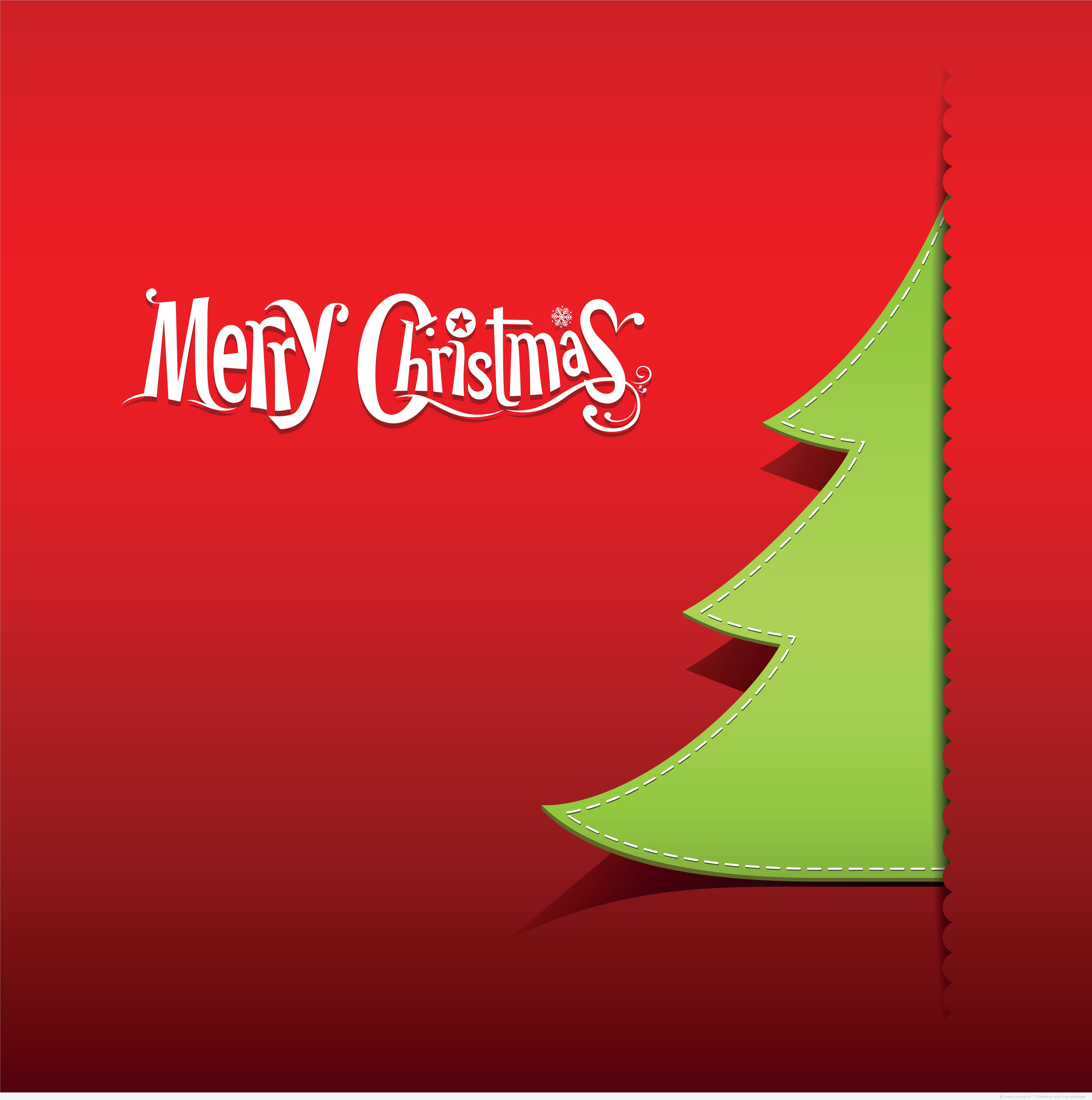 4340x4370 Merry Christmas Vector Free Download