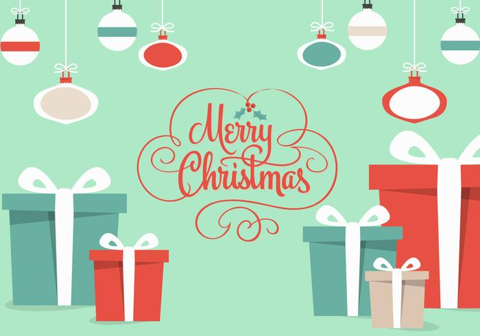 700x490 Christmas Gifts Vector