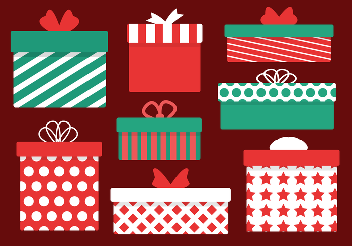700x490 Christmas Presents Vector