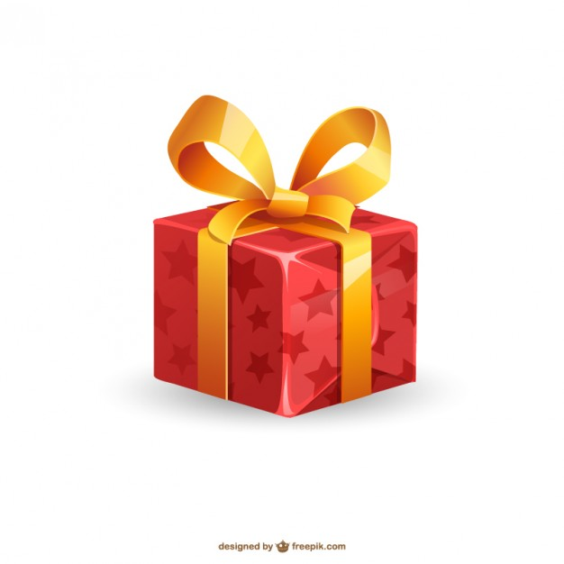 626x626 Christmas Present Illustration Vector Free Download