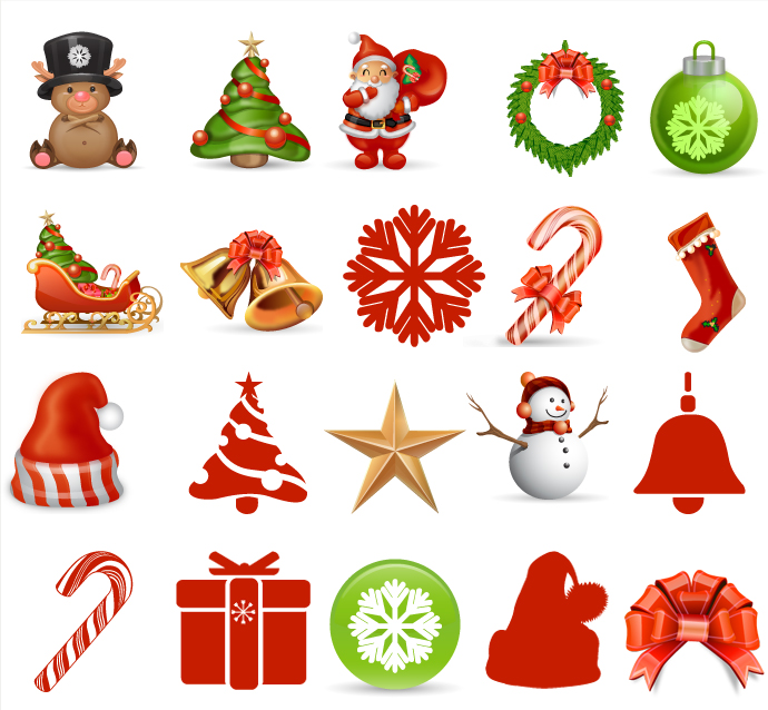 Christmas Vector Free Download.Christmas Icons Free Vector At Getdrawings Com Free For