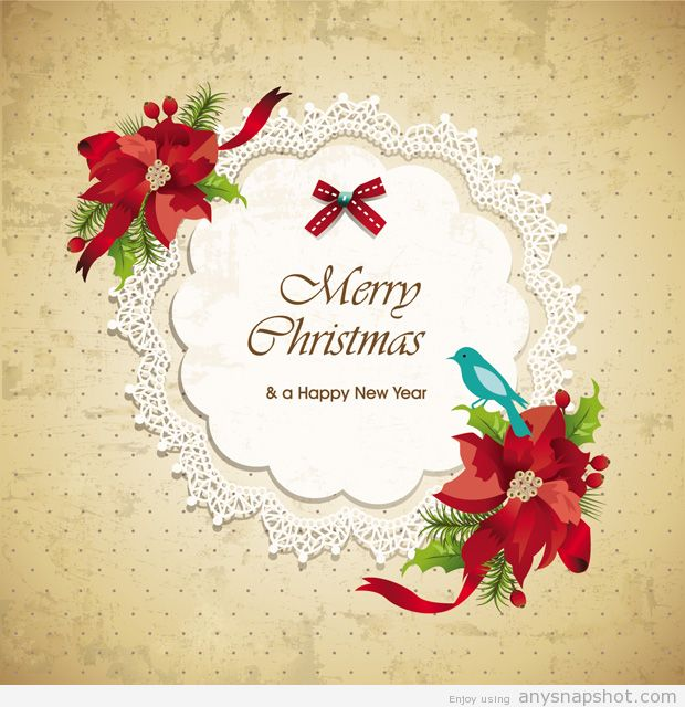 620x640 Christmas Invitation Vector