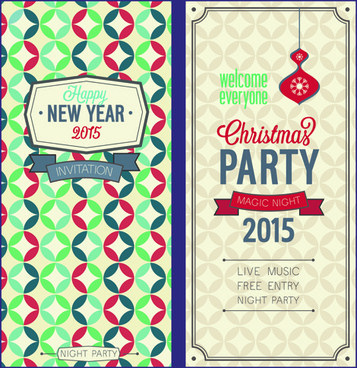 357x368 Free Vector Christmas Invitations Free Vector Download (8,330 Free