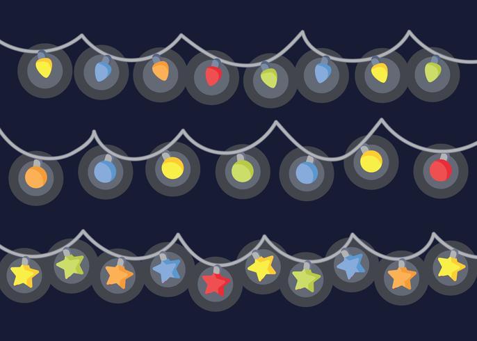 686x490 Free Christmas Lights Vector