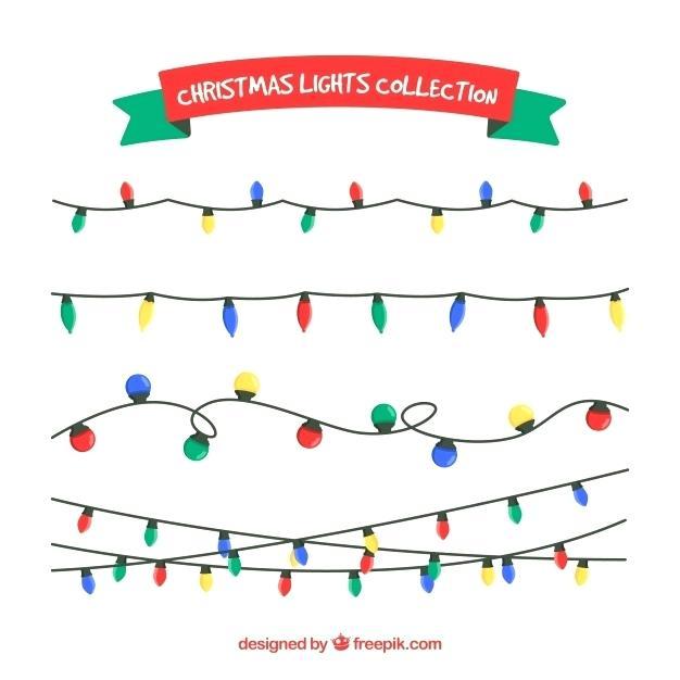 626x626 Christmas Lights Vector