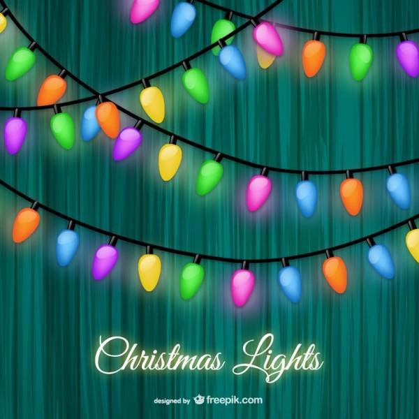 600x600 Christmas Lights Vector Art Free Vectors Free Vectors Ui Download