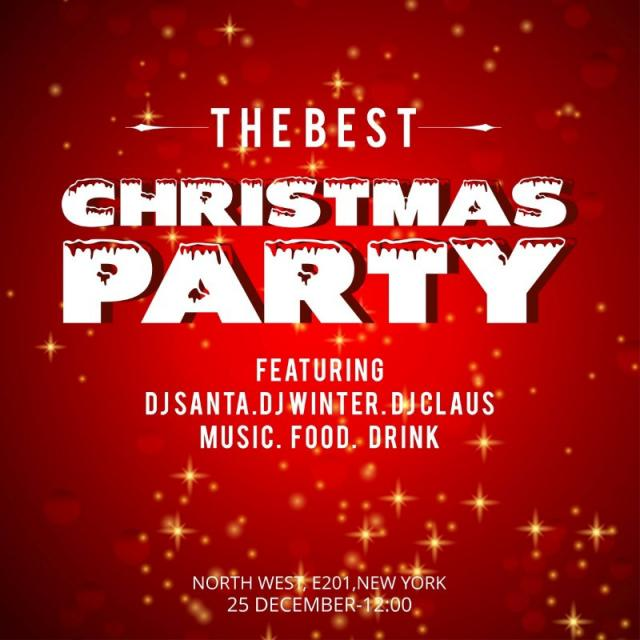 Christmas Invitation Background Png.Christmas Party Vector At Getdrawings Com Free For