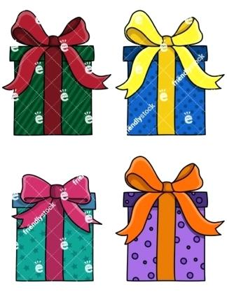 324x418 Christmas Gift Pictures Clip Art Flat Presents And Gift Boxes