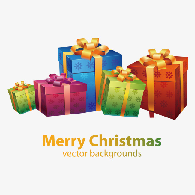 The Best Free Christmas Gift Vector Images Download From 4842 Free