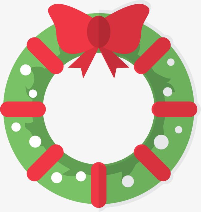 650x685 Christmas Wreath Vector Material Png, Christmas Vector, Wreath