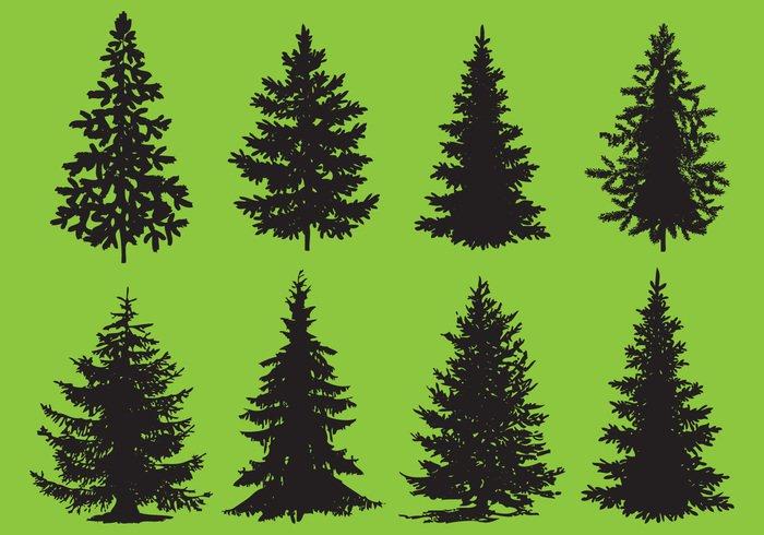 Christmas Tree Vector Free.Christmas Tree Vector Art At Getdrawings Com Free For