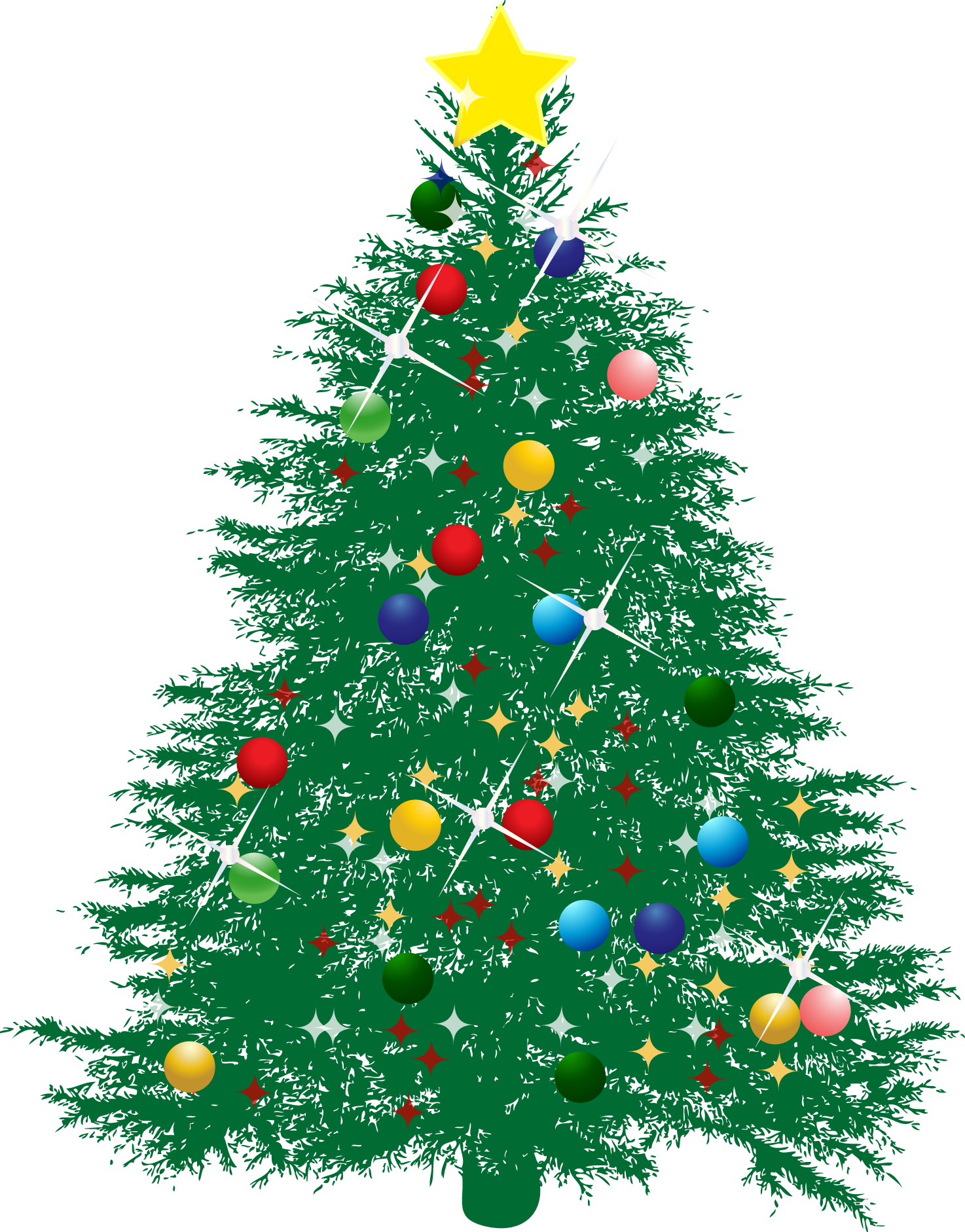 Christmas Tree Vector Image.Christmas Tree Vector Png At Getdrawings Com Free For